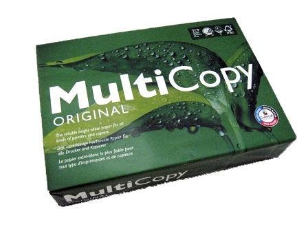 Multicopy A4 100gsm White Laser/Copier Paper Ream 500 Multicopy